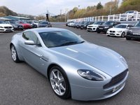 USED 2006 55 ASTON MARTIN VANTAGE 4.3 V8 3d 380 BHP Silver, Black leather, 19 inch alloys & heated seats. only 33,000 miles