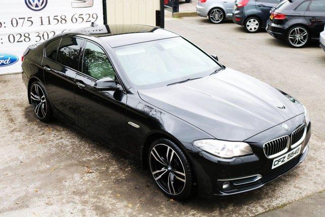2014 BMW 5 SERIES 520D LUXURY  STEP AUTO 181 BHP (FINANCE & WARRANTY)