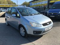 2006 FORD C-MAX 1.8 C-MAX GHIA 5d 125 BHP IN SILVER WITH ONLY 36000 MILES (TRADE CLEARANCE) £1250.00