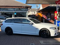 USED 2013 63 BMW 5 SERIES 520D M SPORT TOURING 5d AUTO 181 BHP Free MOT for Life