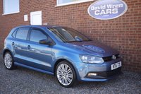 USED 2016 16 VOLKSWAGEN POLO 1.4 BLUE GT DSG 5d AUTO 148 BHP