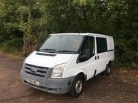 USED 2008 58 FORD TRANSIT 2008 (58) FORD TRANSIT 2.2 300 SWB  85 BHP WHITE IDEAL CAMPER CONVERSION