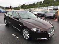 2012 JAGUAR XF 2.2 D PREMIUM LUXURY 4d 190 BHP £13750.00