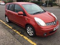 2008 NISSAN NOTE 1.6 TEKNA 5d AUTO 109 BHP £3900.00