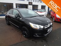 2011 CITROEN DS4 1.6 THP DSPORT 5d 197 BHP £6000.00