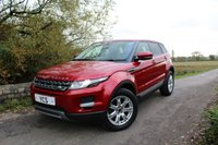 2013 LAND ROVER RANGE ROVER EVOQUE 2.2 SD4 PURE TECH 5d AUTO 190 BHP £21000.00