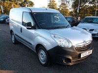USED 2013 13 VAUXHALL COMBO VAN 1.2 2300 L1H1 CDTI 1d 90 BHP **Economical  -  Great Spec - Excellent van  - Drives superbly - NO VAT **