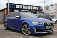 USED 2015 15 AUDI RS3 2.5 RS3 SPORTBACK QUATTRO 5d AUTO 362 BHP SUPERSPORT SEATS, DYNAMIC EXHAUST, B+O