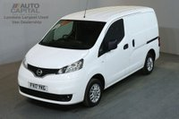 USED 2017 17 NISSAN NV200 1.5 DCI TEKNA 6d 110 BHP EURO 6 AIR CON SWB AIR CONDITIONING EURO 6 ENGINE