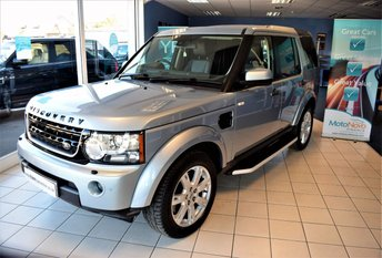 2012 LAND ROVER DISCOVERY 3.0 4 SDV6 COMMERCIAL  255 BHP AUTO WITH COMMAND SHIFT £14,990 PLUS VAT  £14990.00