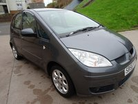 USED 2006 56 MITSUBISHI COLT 1.3 CZ2 5d AUTO 95 BHP GREAT EXAMPLE OF LOW MILES AUTOMATIC +  MOT SEPTEMBER  2019 +  ALLOY WHEELS +  AIR CONDITIONING +