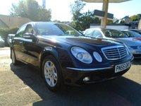 USED 2005 55 MERCEDES-BENZ E CLASS 3.0 E320 CDI ELEGANCE 4d AUTO 222 BHP