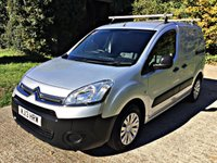 USED 2013 13 CITROEN BERLINGO 1.6 850 ENTERPRISE L1 HDI 1d 89 BHP NO VAT TO PAY, 3 SEATS, AIR CON,