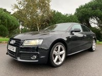 USED 2012 12 AUDI A5 2.0 SPORTBACK TDI S LINE 5d 168 BHP GREAT SPEC 1 OWNER SLINE A5 SPORTBACK WITH FSH