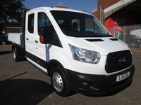 2015 FORD TRANSIT 350 L3 D/CAB ONE STOP TIPPER *ONLY 32000 MILES* £15995.00