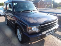 2004 LAND ROVER DISCOVERY 2.5 LANDMARK TD5 5d AUTO 136 BHP £5995.00