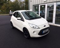 USED 2015 65 FORD KA 1.2 ZETEC WHITE EDITION THIS VEHICLE IS AT SITE 2 - TO VIEW CALL US ON 01903 323333