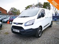 2014 FORD TRANSIT CUSTOM H1 L2 2.2 290 LR P/V 5dr L2-H1 ECO-TECH £7700.00