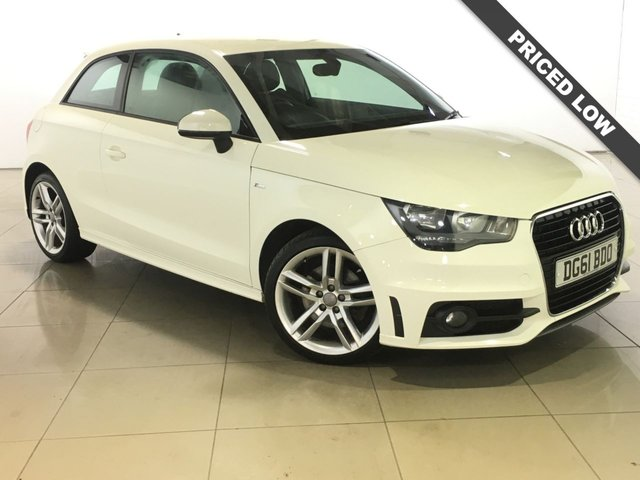 View our 2011 61 AUDI A1 1.4 TFSI S LINE 3d 122 BHP