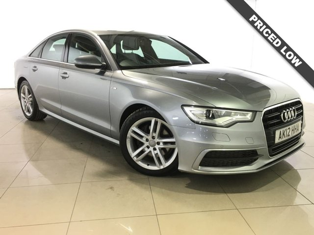 View our 2012 12 AUDI A6 2.0 TDI S LINE 4d AUTO 175 BHP