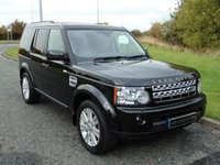 USED 2012 12 LAND ROVER DISCOVERY 3.0 4 SDV6 XS 5d AUTO 255 BHP 7 SEATER, SAT NAV, PRIVACY