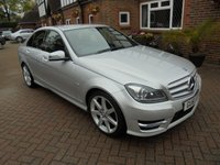 2011 MERCEDES-BENZ C CLASS 1.8 C180 BLUEEFFICIENCY SPORT EDITION 125 4d 156 BHP £9495.00