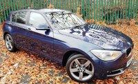 2014 BMW 1 SERIES 1.6 116I SPORT 5d 135 BHP £10500.00