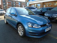 2014 VOLKSWAGEN GOLF 1.6 SE TDI BLUEMOTION TECHNOLOGY 5d 103 BHP £9194.00