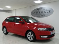 USED 2014 64 SKODA RAPID SPACEBACK 1.6 SE TDI CR 5d 109 BHP