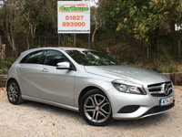 USED 2014 14 MERCEDES-BENZ A CLASS 1.5 A180 CDI BLUEEFFICIENCY SPORT 5dr AUTO Sat Nav, Leather, £20 Tax
