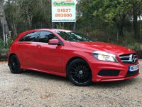 USED 2013 13 MERCEDES-BENZ A CLASS 1.5 A180 CDI BLUEEFFICIENCY AMG SPORT 5dr Sat Nav, Leather, £20 Tax
