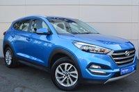 USED 2017 HYUNDAI TUCSON 1.7 CRDI SE NAV BLUE DRIVE 5d 114 BHP