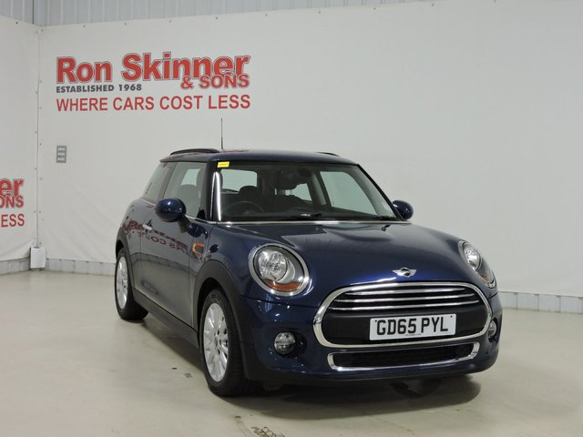 View our 2015 65 MINI HATCH ONE 1.2 ONE 3d 101 BHP with Pepper Pack + 16in Alloys + Multi Function Steering