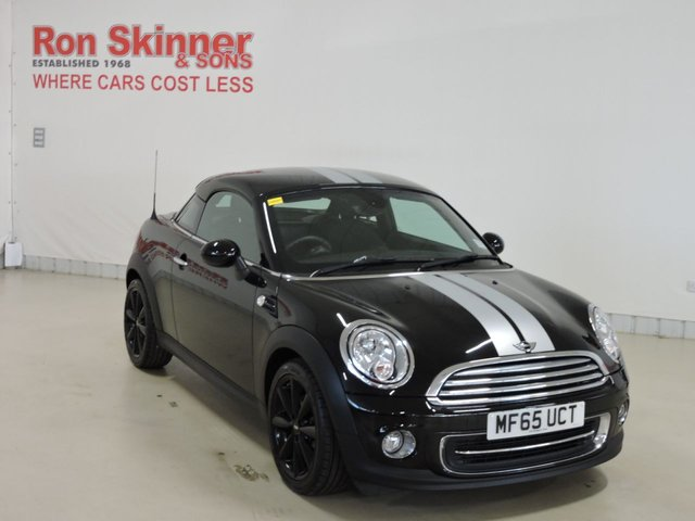 View our 2015 65 MINI COUPE 1.6 COOPER 2d 120 BHP with CHILI Pack
