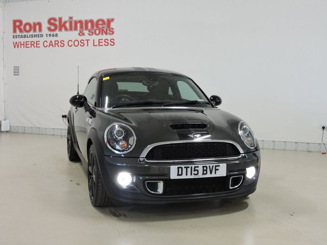 View our 2015 15 MINI COUPE 1.6 COOPER S 2d 181 BHP with CHILI Pack