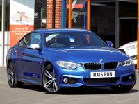 """USED 2015 15 BMW 4 SERIES 2.0 420D M SPORT 2dr (180) * Sat Nav + Leather + 19"""" Alloys *"""