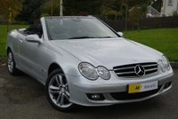 USED 2008 08 MERCEDES-BENZ CLK 1.8 CLK200 KOMPRESSOR AVANTGARDE 2d AUTO 181 BHP ***STUNNING CONVERTIBLE*** £0 DEPOSIT FINANCE