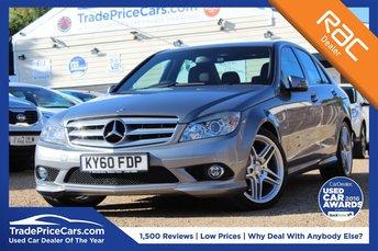 2010 MERCEDES-BENZ C-CLASS 3.0 C350 CDI BLUEEFFICIENCY SPORT 4d AUTO 231 BHP £10450.00