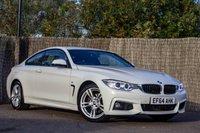 2014 BMW 4 SERIES 2.0 420D M SPORT 2d 181 BHP £15300.00