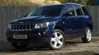 USED 2012 62 JEEP COMPASS LIMITED CRD
