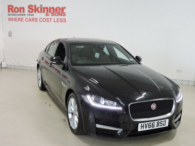 View our 2016 66 JAGUAR XF 2.0 R-SPORT 4d AUTO 177 BHP