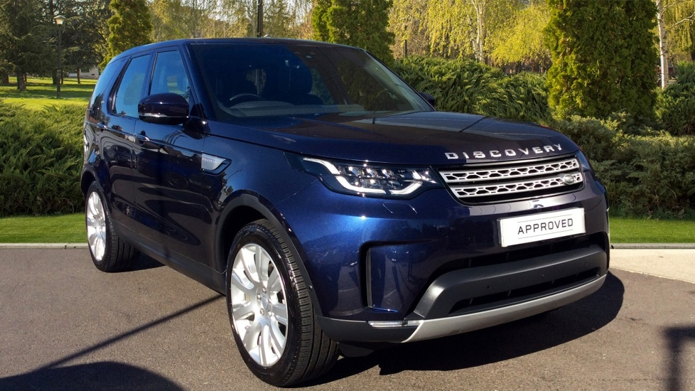 View our 2017 17 LAND ROVER DISCOVERY 2.0 SD4 HSE Luxury 5dr
