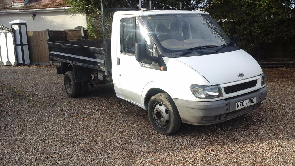 View our 2006 06 FORD TRANSIT 2.4 TD 350 L Tipper 2dr (LWB)