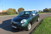 2013 FIAT 500L 1.2 MULTIJET EASY,Bluetooth,Cruise Control £SOLD