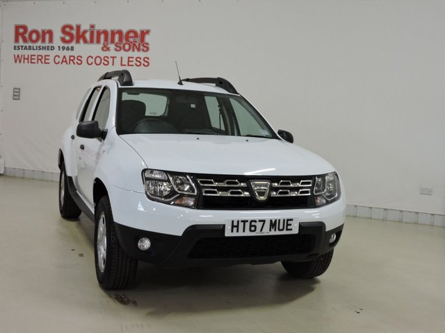 View our 2018 67 DACIA DUSTER 1.6 AIR SCE 5d 114 BHP