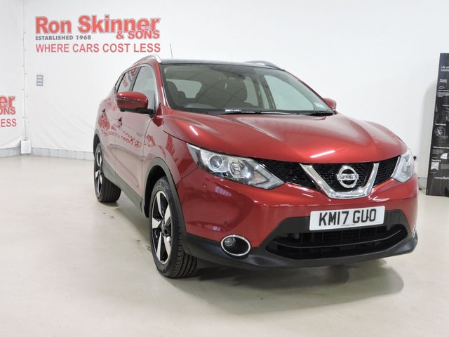 View our 2017 17 NISSAN QASHQAI 1.5 N-CONNECTA DCI 5d 108 BHP