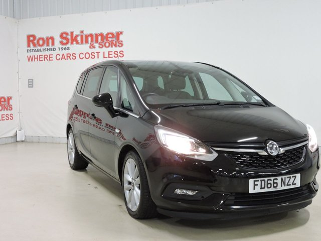 View our 2016 66 VAUXHALL ZAFIRA TOURER 2.0 ELITE CDTI S/S 5d 168 BHP