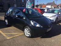 USED 2012 62 HONDA JAZZ 1.3 I-VTEC ES 5d AUTO 98 BHP AUTOMATIC, LOW MILEAGE, WITH FULL DEALER SERVICE HISTORY