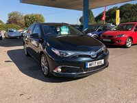 2017 TOYOTA AURIS 1.8 VVT-I EXCEL TSS 5d AUTO 99 BHP £17499.00