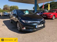 USED 2017 17 TOYOTA AURIS 1.8 VVT-I EXCEL TSS 5d AUTO 99 BHP TOP OF THE RANGE! FULLY LOADED!